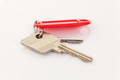 Keys on a Key Ring Stock Photos