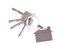 Keys with key ring Royalty Free Stock Photo