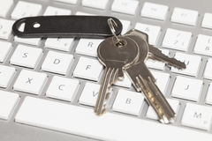 Keys on keyboard Stock Images