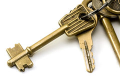 Keys on a keychain 2 Royalty Free Stock Photo
