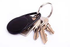 Keys on keyring Stock Images