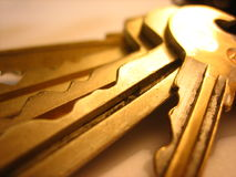keys kontoret Arkivbilder