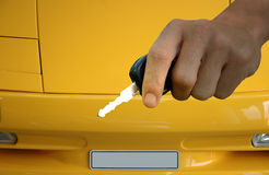 Keys for Lambo Royalty Free Stock Photo