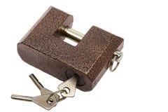 Keys and lock Stock Photo