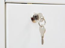 Keys in a lock Stock Images