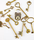 Keys and lock Stock Images