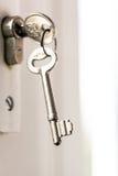 Keys in locker Royalty Free Stock Photos