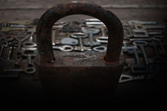 Keys locks Royalty Free Stock Photography