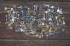 Keys locks Royalty Free Stock Photos