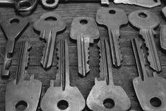 Keys locks royalty free stock images