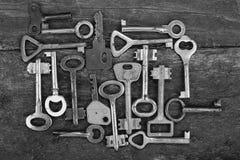 Keys locks Stock Photos