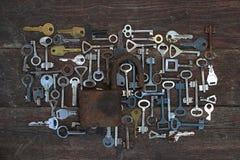 Keys locks Stock Photography