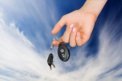 Keys from the machine Royalty Free Stock Images