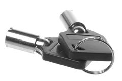 Keys Macro Isolated Stock Photo