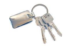 Keys with metal tag Stock Image