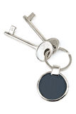 Keys with metal tag Stock Photography
