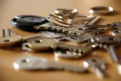 keys mitt Royaltyfri Fotografi