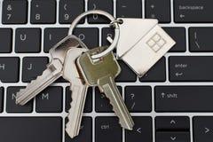 Free Keys On Black Laptop Keyboard Royalty Free Stock Image - 125723666
