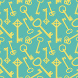 Keys pattern Stock Images