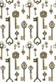 Keys pattern stock photography