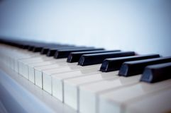 Keys of a piano royalty free stock images