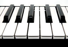 keys pianot Royaltyfria Foton