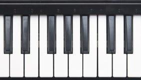 keys pianot Arkivbilder