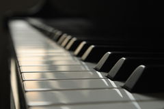 keys pianot Royaltyfria Bilder