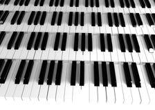 keys pianot Fotografering för Bildbyråer