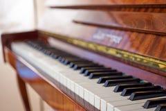 keys pianot Royaltyfri Fotografi