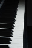 keys pianot Royaltyfri Bild