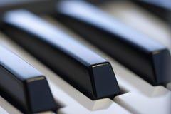 keys pianot arkivfoto