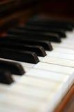 keys pianot Royaltyfria Bilder