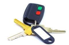 Keys with remote Stock Photography