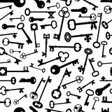 Keys Repeating Background Stock Photos