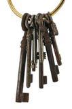 Keys on ring Stock Images