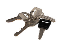 Keys on ring Royalty Free Stock Photos