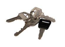 Keys on ring royalty free stock photos