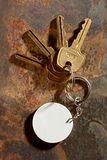 Keys with ring Royalty Free Stock Photos