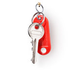 Keys on ring Royalty Free Stock Images