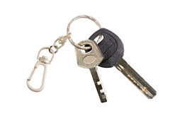 Keys on the ring. Stock Image