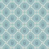 Keys seamless pattern Royalty Free Stock Image