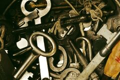 Keys series Royalty Free Stock Image