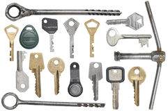 Keys set Royalty Free Stock Image