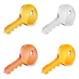Keys set Royalty Free Stock Photography