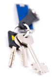 Keys with shallow DOF Royalty Free Stock Images
