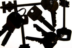 Keys  silhouette Stock Photo