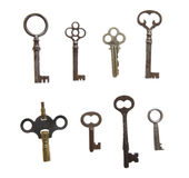 keys skelett Royaltyfria Foton