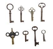 keys skelett Royaltyfria Foton