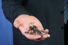 keys success to Στοκ φωτογραφία με δικαίωμα ελεύθερης χρήσης